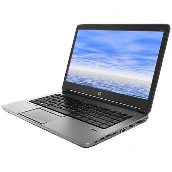 "NOTEBOOK HP PROBOOK 640 G1 14"" INTEL CORE I3 4000M 2.4 GHZ 4 GB DDR3 60 GB HDD INTEL HD GRAPHICS 4600 WEBCAM REFURBISHED WINDOWS 10 PRO"
