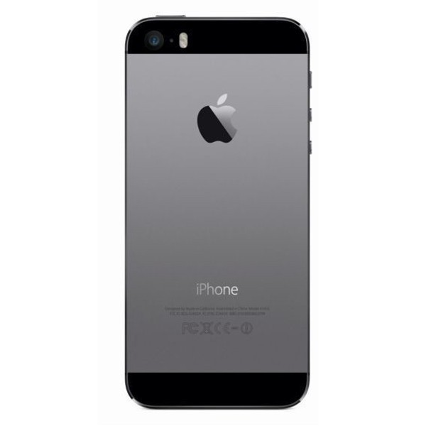 SMARTPHONE APPLE iPhone 5S 16GB Touch ID LTE iOS 8 Wi-Fi FOTOCAMERA 8 MPX REFURBISHED GRADO A++ GRIGIO SIDERALE