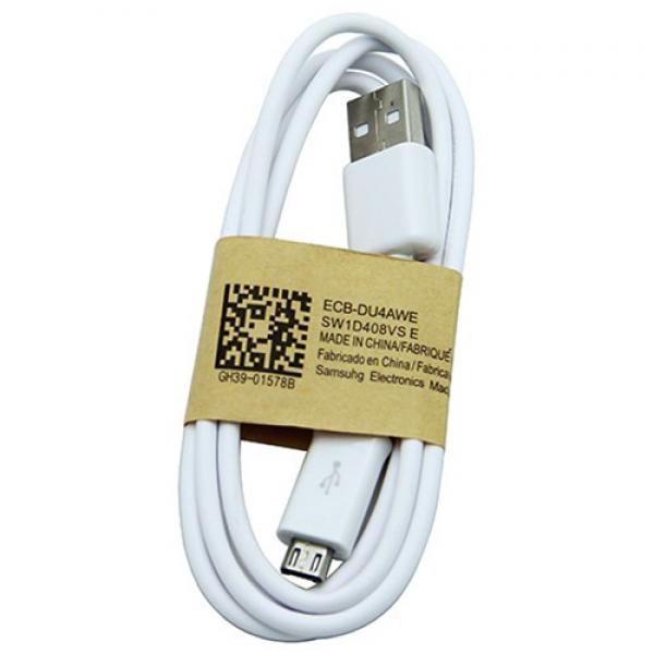 CAVO DATI USB ORIGINALE SAMSUNG GH39 01578B BIANCO RICARICA / SINCRONIZZAZIONE GALAXY S4 NOTE TAB 3 *** SPEDIZIONE GRATIS ***