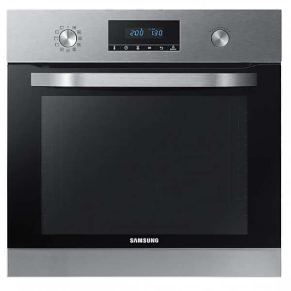 FORNO SAMSUNG AD INCASSO NV70K3370BS / NV70K2340RS 60 CM 70 L DOPPIA VENTOLA DISPLAY LED REFURBISHED INOX
