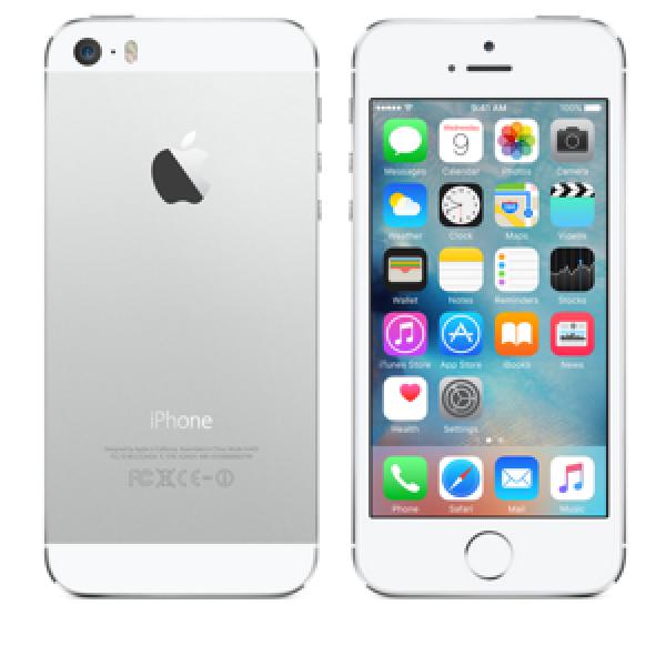 SMARTPHONE APPLE iPhone 5S 16GB Touch ID LTE iOS 8 Wi-Fi FOTOCAMERA 8 MPX REFURBISHED GRADO A++ SILVER