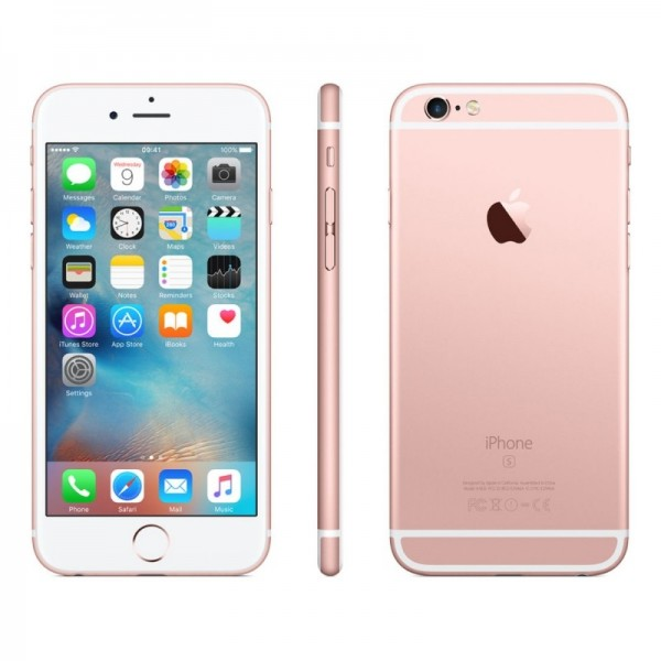SMARTPHONE APPLE IPHONE 6S 32 GB 4G LTE CHIP A9 TOUCH ID IOS 9 12 MP FOCUS PIXEL REFURBISHED ROSE GOLD