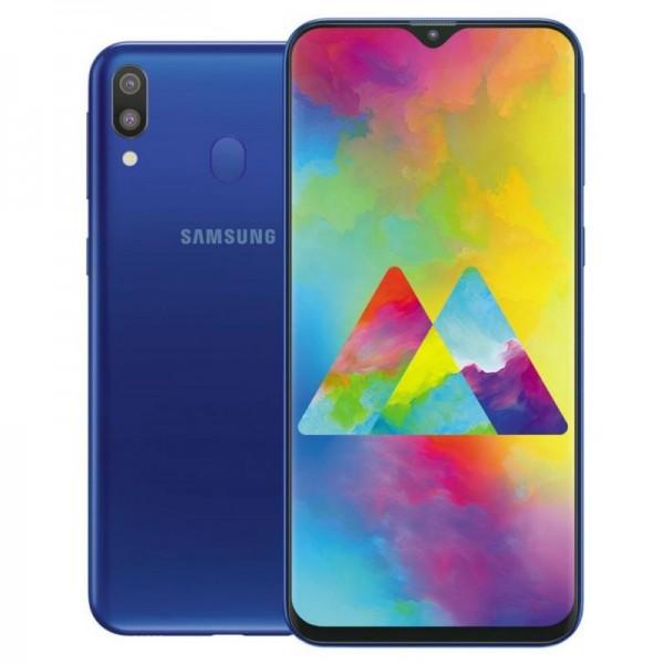 "SMARTPHONE SAMSUNG GALAXY M20 SM M205F 64 GB DUAL SIM 6.3"" 4G LTE WIFI 13 + 5 MP OCTA CORE REFURBISHED OCEAN BLUE"