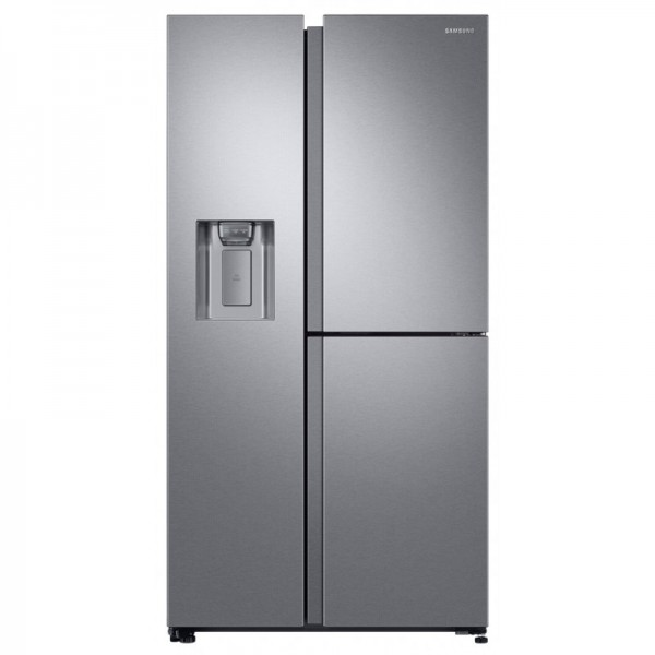 FRIGORIFERO SAMSUNG SIDE BY SIDE RS6GN8671SL / RS68N8671SL RS8000 3 PORTE INOX 604 L TOTAL NO FROST DIGITAL INVERTER DISPENSER ACQUA E GHIACCIO REFURBISHED CLASSE A++