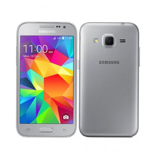 SMARTPHONE SAMSUNG GALAXY CORE PRIME SM G360F 4G LTE 8 GB QUAD CORE 5 MP WIFI BLUETOOTH ANDROID REFURBISHED SILVER