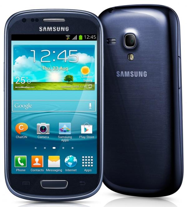 "SMARTPHONE SAMSUNG S3 MINI GT I8200N 4"" SUPER AMOLED 8 GB DUAL CORE 3G WIFI BLUETOOTH NFC ANDROID REFURBISHED BLU"