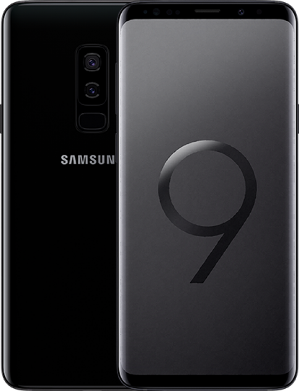 "SMARTPHONE SAMSUNG GALAXY S9 PLUS SM G965F DUAL SIM 64 GB 4G LTE WIFI DOPPIA FOTOCAMERA 12 MP + 12 MP OCTA CORE 6.2"" QUAD HD+ SUPER AMOLED REFURBISHED MIDNIGHT BLACK"