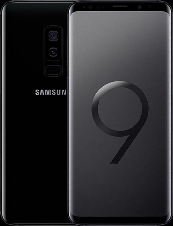 "SMARTPHONE SAMSUNG GALAXY S9 PLUS SM G965F 64 GB 4G LTE WIFI DOPPIA FOTOCAMERA 12 MP + 12 MP OCTA CORE 6.2"" QUAD HD+ SUPER AMOLED REFURBISHED MIDNIGHT BLACK"