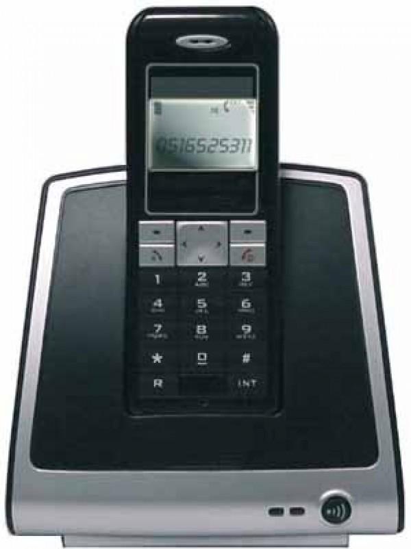TELEFONO CORDLESS HITEL HT1400 VIVAVOCE ID CHIAMATE SUONERIA POLIFONICA DISPLAY MONOCROMATICO