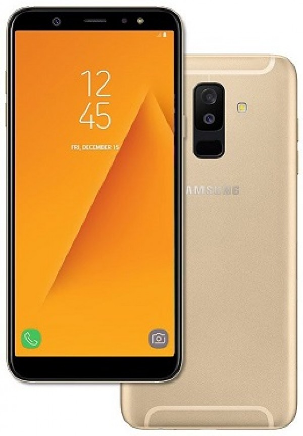 "SMARTPHONE SAMSUNG GALAXY A6 PLUS SM A605F DUAL SIM 32 GB OCTA CORE 6"" SUPER AMOLED 16 + 5 MP 4G LTE WIFI BLUETOOTH ANDROID REFURBISHED GOLD"