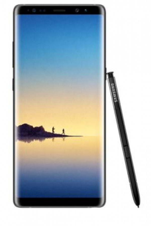 "SMARTPHONE SAMSUNG GALAXY NOTE 8 SM N950F 6.3"" DUAL EDGE SUPER AMOLED 64 GB OCTA CORE 4G LTE WIFI 12 MP + 12 MP ANDROID REFURBISHED MIDNIGHT BLACK"