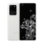 "SMARTPHONE SAMSUNG GALAXY S20 ULTRA 5G SM G988B 128 GB 6.9"" 108 + 12 + 48 MP + VGA OCTA CORE REFURBISHED CLOUD WHITE"