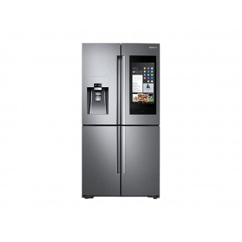 FRIGORIFERO SAMSUNG RF56N9740SR 4 PORTE FAMILY HUB AKG 90 CM 550 L INOX DISPLAY LCD NO FROST PREMIUM DISPENSER DIGITAL INVERTER WIFI LIBERA INSTALLAZIONE REFURBISHED CLASSE A+