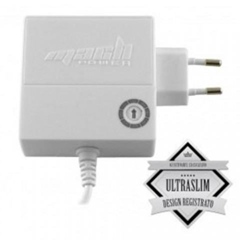 ALIMENTATORE UNIVERSALE MACH POWER CB-SS100W SLIM BIANCO USB 100W 8 CONNETTORI