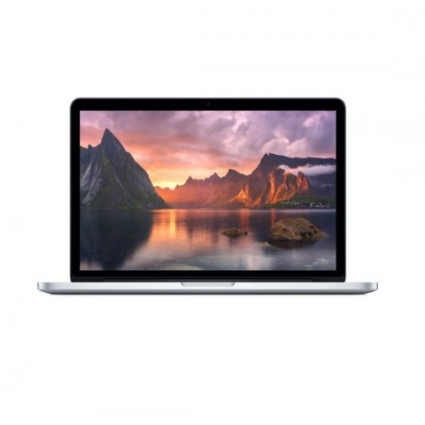 "MACBOOK PRO APPLE A1502 RETINA 13.3"" EARLY 2015 INTEL CORE I5 DUAL CORE 2.7 GHZ 8 GB LPDDR3 256 GB SSD INTEL IRIS GRAPHICS 6100 WEBCAM REFURBISHED SILVER"