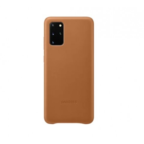 GALAXY S20 PLUS LEATHER COVER PER CELLULARE EF-VG985LAEGEU REFURBISHED BROWN / MARRONE