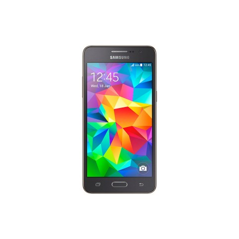 "SMARTPHONE SAMSUNG GALAXY GRAND PRIME SM G530F 8 GB 5"" 4G LTE QUAD CORE 8 MP REFURBISHED GRAY"