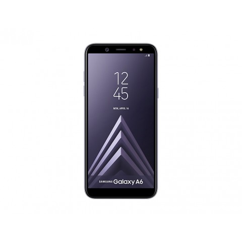 "SMARTPHONE SAMSUNG GALAXY A6 SM A600F DUAL SIM 32 GB OCTA CORE 5.6"" SUPER AMOLED 16 MP 4G LTE WIFI BLUETOOTH ANDROID REFURBISHED LAVENDER"