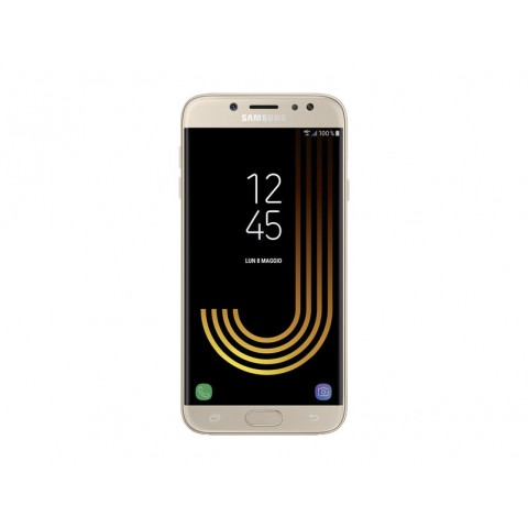 "SMARTPHONE SAMSUNG GALAXY J7 (2017) SM J730F DUAL SIM 16 GB OCTA CORE 5.5"" SUPER AMOLED 13 MP 4G LTE WIFI BLUETOOTH ANDROID REFURBISHED GOLD"
