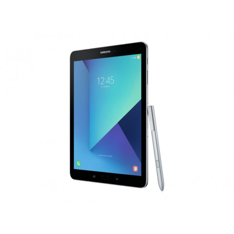 "TABLET SAMSUNG GALAXY TAB S3 SM T825 9.7"" SUPER AMOLED 32 GB QUAD CORE 4G LTE WIFI BLUETOOTH 13 MP ANDROID REFURBISHED SILVER"