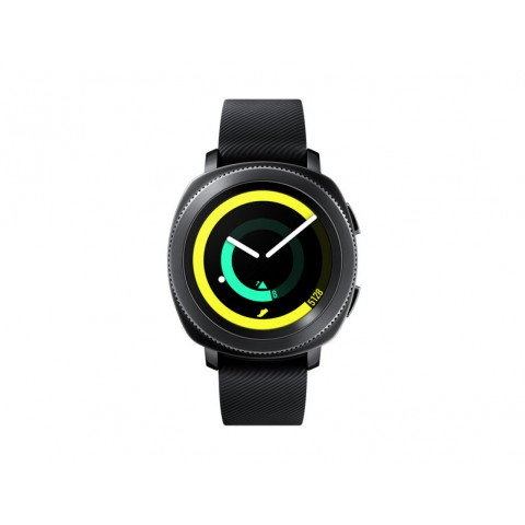 "SMARTWATCH SAMSUNG GALAXY GEAR SPORT SM R600 1.2"" SUPER AMOLED 4 GB 1 GHZ DUAL CORE BLUETOOTH REFURBISHED NERO"