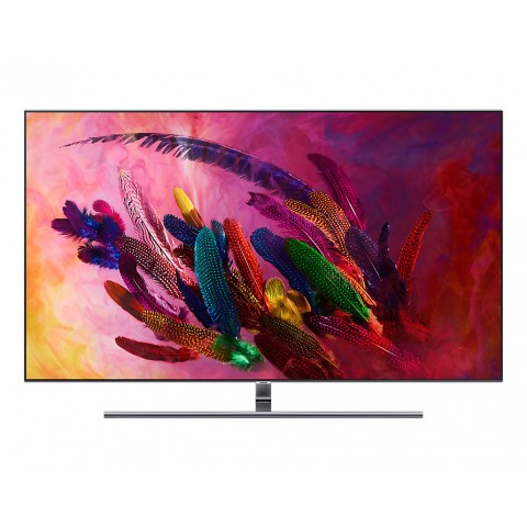 """TV 65"""" SAMSUNG QE65Q7FNAT QLED SERIE 7 Q7FN 2018 4K UHD SMART WIFI 3200 PQI USB HDMI SILVER / INOX"""