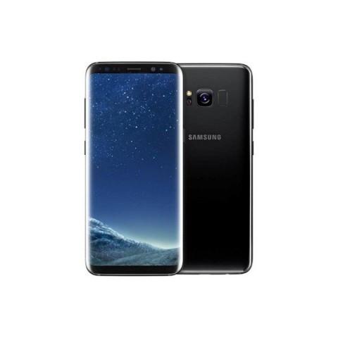 """SMARTPHONE SAMSUNG GALAXY S8 PLUS SM G955F 64 GB 4G LTE WIFI 12 MP DUAL PIXEL OCTA CORE 6.2"""" QUAD HD+ SUPER AMOLED REFURBISHED MIDNIGHT BLACK"""