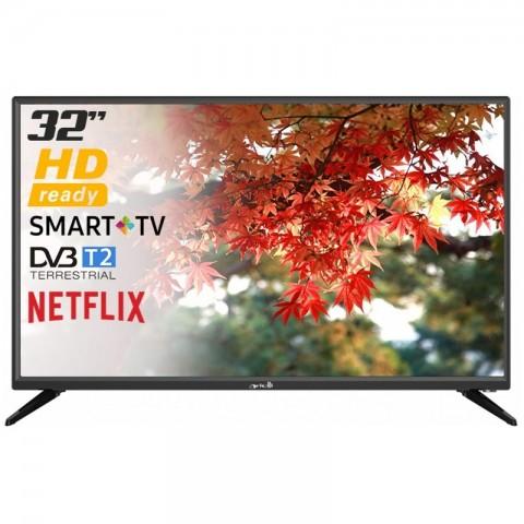 "TV 32"" ARIELLI LED 3228NF HD READY SMART WIFI HDMI USB 12 MESI GARANZIA UFFICIALE"