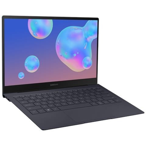 "NOTEBOOK SAMSUNG GALAXY BOOK S NP767XCM K02IT 13.3"" TOUCH SCREEN INTEL CORE I5 L16G7 1.4 GHZ 8 GB LPDDR4 256 GB SSD WEBCAM WINDOWS 10 PRO REFURBISHED GRIGIO"