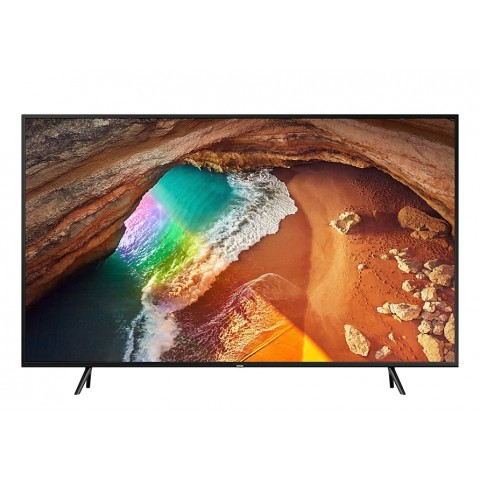 "TV 55"" SAMSUNG QE55Q60RAT QLED Q60R 2019 4K ULTRA HD SMART WIFI 2400 PQI USB HDMI REFURBISHED CHARCOAL BLACK"