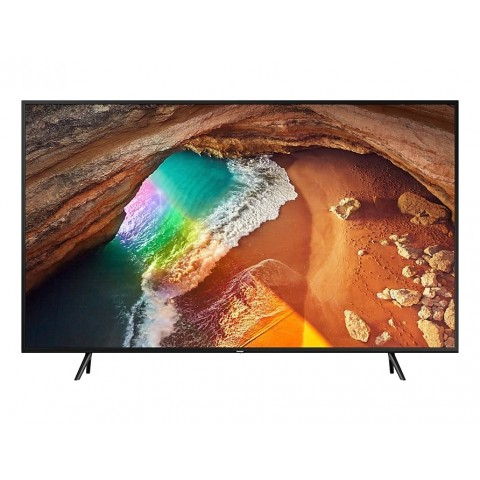 "TV 43"" SAMSUNG QE43Q60RAT QLED Q60R 2019 4K ULTRA HD SMART WIFI 2400 PQI USB HDMI REFURBISHED CHARCOAL BLACK"
