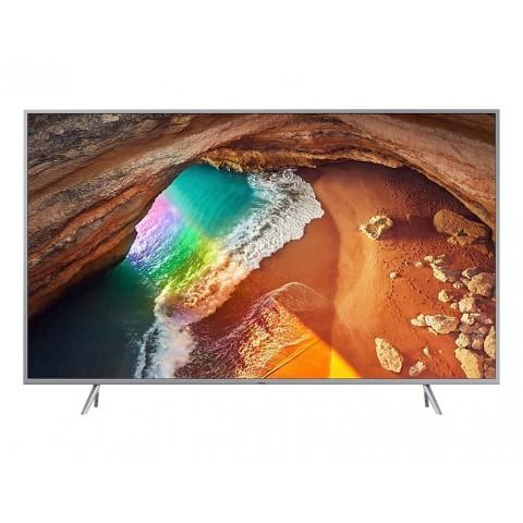 """TV 49"""" SAMSUNG QE49Q64RAT QLED SERIE Q64R 2019 4K ULTRA HD SMART WIFI 2500 PQI USB HDMI REFURBISHED SILVER / INOX"""