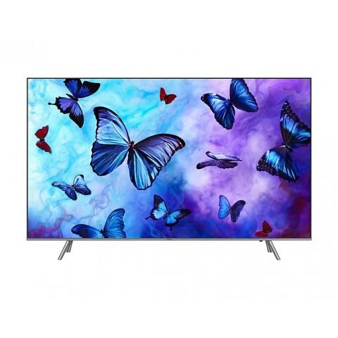 """TV 75"""" SAMSUNG QE75Q6FNAT QLED SERIE 6 Q6FN 2018 4K UHD SMART WIFI 2800 PQI USB HDMI REFURBISHED SILVER / INOX"""