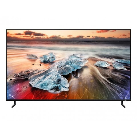 """TV 65"""" SAMSUNG QE65Q950RBT QLED Q950R 2019 8K SMART WIFI 4300 PQI USB REFURBISHED HDMI"""