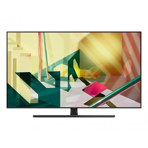 "TV 75"" SAMSUNG QE75Q70TAT QLED Q70T 2020 4K UHD SMART WIFI 3400 PQI USB REFURBISHED HDMI"