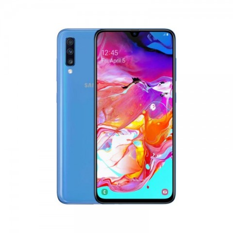 "SMARTPHONE SAMSUNG GALAXY A70 SM A705F DUAL SIM 128 GB OCTA CORE 6.7"" SUPER AMOLED TRIPLA FOTOCAMERA 32 + 5 + 8 MP 4G LTE WIFI BLUETOOTH REFURBISHED BLU"
