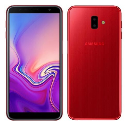 "SMARTPHONE SAMSUNG GALAXY J6 PLUS SM J610F DUAL SIM 32 GB QUAD CORE 6"" 13 MP + 5 MP 4G LTE WIFI BLUETOOTH ANDROID REFURBISHED ROSSO"