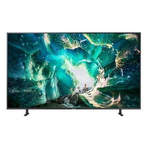 "TV 55"" SAMSUNG UE55RU8000 LED 2019 SERIE 8 4K ULTRA HD SMART WIFI 2500 PQI HDMI USB REFURBISHED TITAN GRAY"