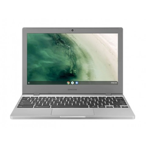 "SAMSUNG CHROMEBOOK 4 XE310XBA K01IT 11.6"" INTEL CELERON N4000 4 GB LPDDR4 64 GB e.MMC INTEL UHD GRAPHICS 600 WEBCAM CHROME OS REFURBISHED PLATINUM TITAN"