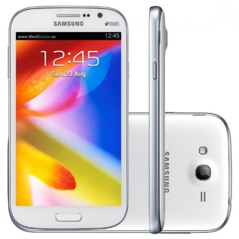 "SMARTPHONE SAMSUNG GALAXY GRAND DUOS GT I9082 DUAL SIM 8 GB 5"" DUAL CORE 3G WIFI 8 MP REFURBISHED BIANCO"