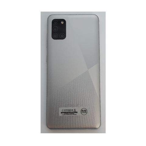 "SMARTPHONE SAMSUNG GALAXY A31 SM A315G DUAL SIM 64 GB OCTA CORE 6.4"" SUPER AMOLED 4G LTE WIFI BLUETOOTH QUATTRO FOTOCAMERE REFURBISHED SILVER"