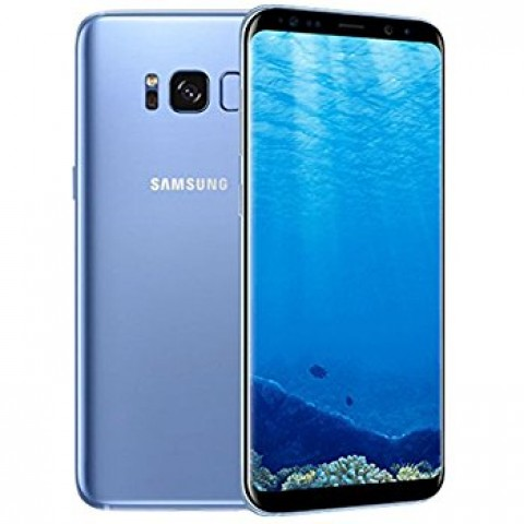 "SMARTPHONE SAMSUNG GALAXY S8 SM G950F 64 GB 4G LTE WIFI 12 MP DUAL PIXEL OCTA CORE 5.8"" QUAD HD+ SUPER AMOLED REFURBISHED CORAL BLUE"