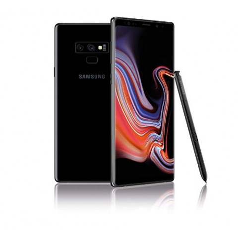 "SMARTPHONE SAMSUNG GALAXY NOTE 9 SM N960F DUAL SIM 6.4"" DUAL EDGE SUPER AMOLED 512 GB OCTA CORE 4G LTE WIFI 12 MP + 12 MP ANDROID REFURBISHED MIDNIGHT BLACK"