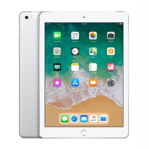 "IPAD 6 APPLE A1893 128 GB WIFI DISPLAY RETINA 9,7"" MULTI TOUCH CHIP A10 FUSION 8 MP IOS 12 REFURBISHED ARGENTO"