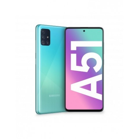 "SMARTPHONE SAMSUNG GALAXY A51 SM A515F 128 GB DUAL SIM OCTA CORE 6.5"" SUPER AMOLED 4G LTE WIFI BLUETOOTH 4 FOTOCAMERE REFURBISHED PRISM CRUSH BLUE"