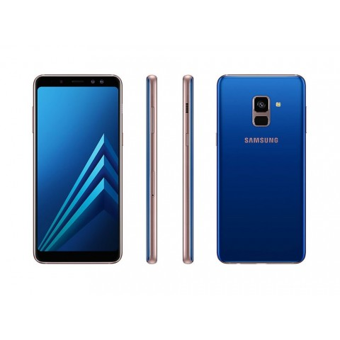 "SMARTPHONE SAMSUNG GALAXY A8 SM A530F 32 GB OCTA CORE 5.6"" SUPER AMOLED 16 MP 4G LTE WIFI BLUETOOTH ANDROID REFURBISHED BLU"