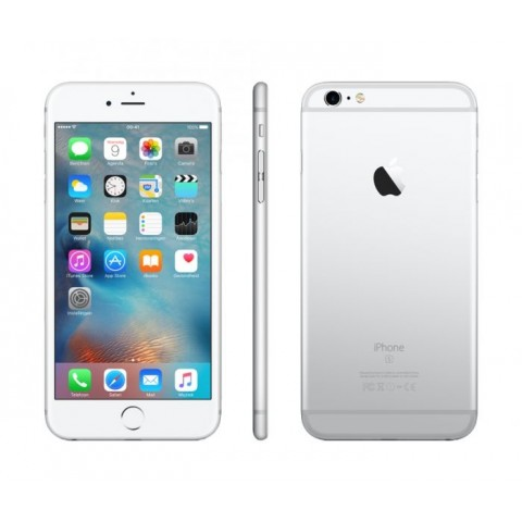 """SMARTPHONE APPLE IPHONE 6S PLUS 128 GB 5,5"""" 4G LTE CHIP A9 TOUCH ID IOS 9 12 MP REFURBISHED ARGENTO"""