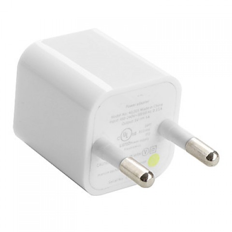 CARICABATTERIE / ADATTATORE FLEXTRONICS A1265 BIANCO 5 V 1 A COMPATIBILE PER IPHONE E IPOD