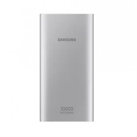 BATTERY PACK (TYPE-C) / POWER BANK / BATTERIA ESTERNA SAMSUNG EB-P1100CSEGWW UNIVERSALE 10000 MAH RICARICA RAPIDA PER SMARTPHONE E TABLET REFURBISHED ARGENTO