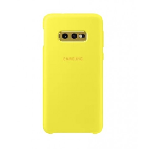 GALAXY S10e SILICONE COVER PER CELLULARE EF-PG970TYEGWW REFURBISHED GIALLO